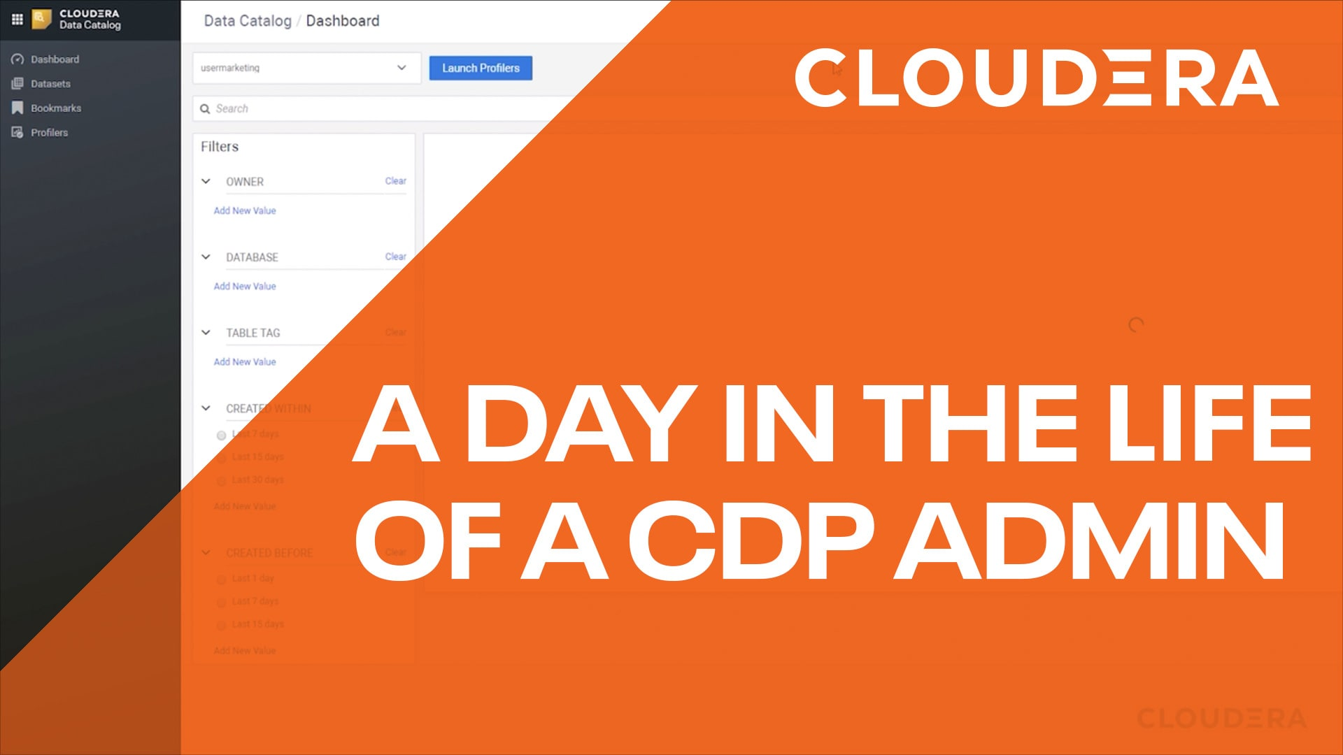 Day in the life of a CDP admin video