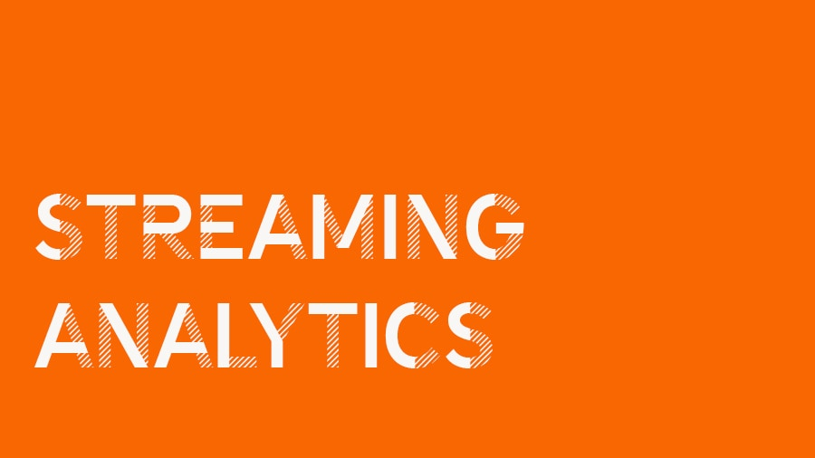Cloudera streaming analytics video